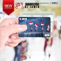 KARTU FLAZZ BCA DIRGAHAYU INDONESIA - 73 years