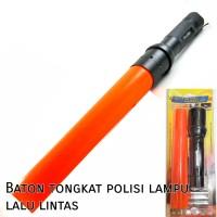 Senter + Baton tongkat polisi lampu lalu lintas
