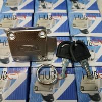 Kunci Laci / Pintu Lemari Meja Kantor HUBEN Kerangka Padat HL 138 - 22