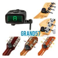 Tuner gitar bass ns micro clipfree tuner daddario