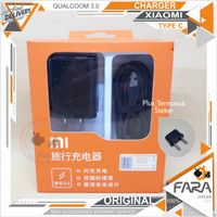 Charger XIAOMI Mi5 ORIGINAL 100% FAST CHARGER QUALCOOM 3.0
