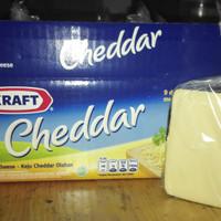Keju Kraft cheddar potongan 250gr