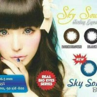 Softlens sky soul black