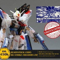HG GUNDAM STRIKE FREEDOM CLEAR LIMITED EXPO BUKAN ASTRAY 00 UNICORN