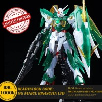 MG GUNDAM WING FENICE RINASCITA CLEAR LIMITED EXPO NOT ASTRAY UNICORN