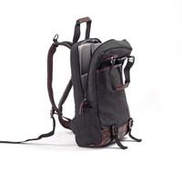 TAS RANSEL COWOK sekolah backpack laptop kanvas CANVAS ORI SIMMON - Cokelat