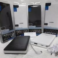 Power bank Original VIVERR 20.000mah Slim include konektor iphone 5/6