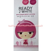 Cathy Doll Ready 2 White Whitener Body Lotion Membuat Kulit Cerah 100m