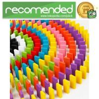 Balok Domino 120PCS - Multi Warna