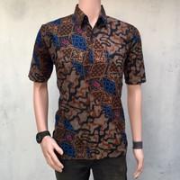 Kemeja Batik Pria Hem Batik Pria Grosir Batik Pekalongan Murah Ozila