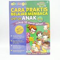 Buku Abacaga Cara praktis Belajar membaca untuk Anak 4 - 6 tahun