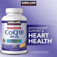 new Kirkland Signature CoQ10 300mg - 100 Softgels