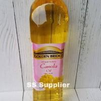 Golden Bridge Canola Oil / Minyak Kanola 1 liter Best Seller !