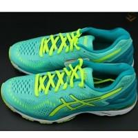 Sepatu Asics Running dan Volly Wanita kayano 23 made in China green