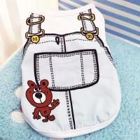 Baju Anjing Kaos Kucing Kaus Hewan shirt Dog Clothes Cat fake strap