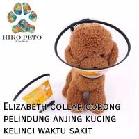 Elizabeth E-collar corong pet protection anjing pelindung kucing
