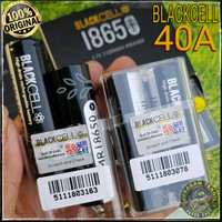 AUTHENTIC BLACKCELL 18650 BATTERY 3100 mAh 40A Black Cell 3100mAh 40 A