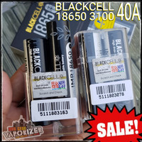 100% ORIGINAL BLACKCELL 18650 BATTERY 3100 mAh 40A Black Cell blackcel