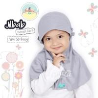 Jilbab Bergo Zara Bayi Balita Anak Kaos PE size XS Fenuza