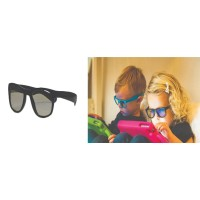 Real Shades Kacamata Anak 2Y  Screen Shades - Black