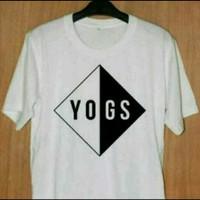 Atasan pria kaos t-shirt YOGS big 3xl 4xl 6xl 5xl di murah bagus