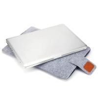 Soft Sleeve Bag Case Carrying Handle Bag untuk Laptop Notebook Macbook