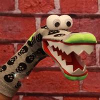 Boneka Tangan Buaya Crocodile