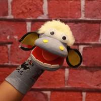 Boneka tangan si domba Sheep Lucu