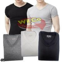 K478 |Kaos Oblong V-NECK | Kaos Dalam | T Shirt | Kaos Polos Premium