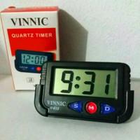 Jam Mobil Digital VINNIC QUARTZ TIMER V-613 harga murah