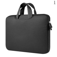 Tas Laptop Softcase Jinjing Foam Neoprene for Macbook 14 inch - Black
