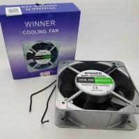 Kipas fan panel winner ac 220v 15 x 15 cm ball bearing