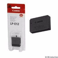 Baterai canon LP-E12 buat kamera canon eos m10 eos m100