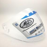 new. kaca helm original. bening. untuk helm MDS zarra