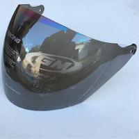 barang bagus. kaca helm original. warna pelangi. untuk helm GM