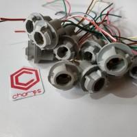 Soket Fitting Lampu Sen Sein Senja T10 Socket LED Sein Motor Mobil