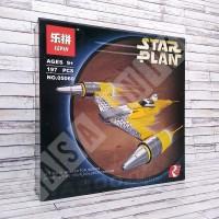 LEGO Brick Lepin 05060 - Star Wars Naboo N-1 Starfighter