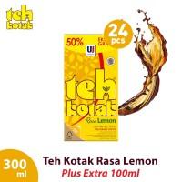 Teh Kotak 300 mL Rasa Lemon Box (Isi 24 Pcs) [FS]