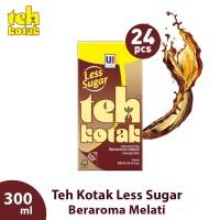 Teh Kotak Jasmine Less Sugar 300 mL Box (Isi 24 Pcs) [FS]
