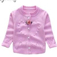 Sweater pink anak