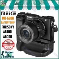 MEIKE ORIGINAL MK-6300 Battery Grip for Sony Alpha A6000/A6300