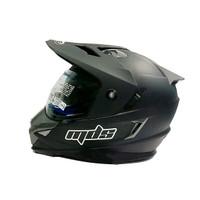 Helm MDS Supermoto Super Pro superpro moto double visor adventure cros