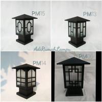 Lampu Hias Taman Dindin Pagar PM14