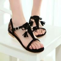 Sandal Cantik UM18 Hitam
