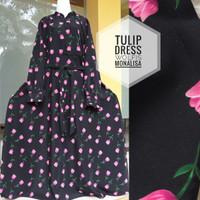 Dress monalisa-tulip dress-gamis monalisa premium