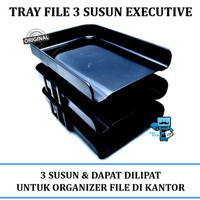 Rak File / Tray 3 Susun EXCEVUTIVE
