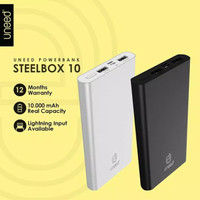 Power Bank 10000 mAh Polymer Uneed Steel Box10 UPB213