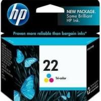 Tinta printer hp 22 tricolor original