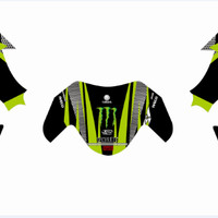 DECAL FULL BODY YAMAHA NMAX MONSTER FILE CORELDRAW SIAP PRINT