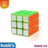 [MAINAN ANAKONSHOP] Ocean Toy Rubik Cube 3x3 Glow In The Dark Mainan A